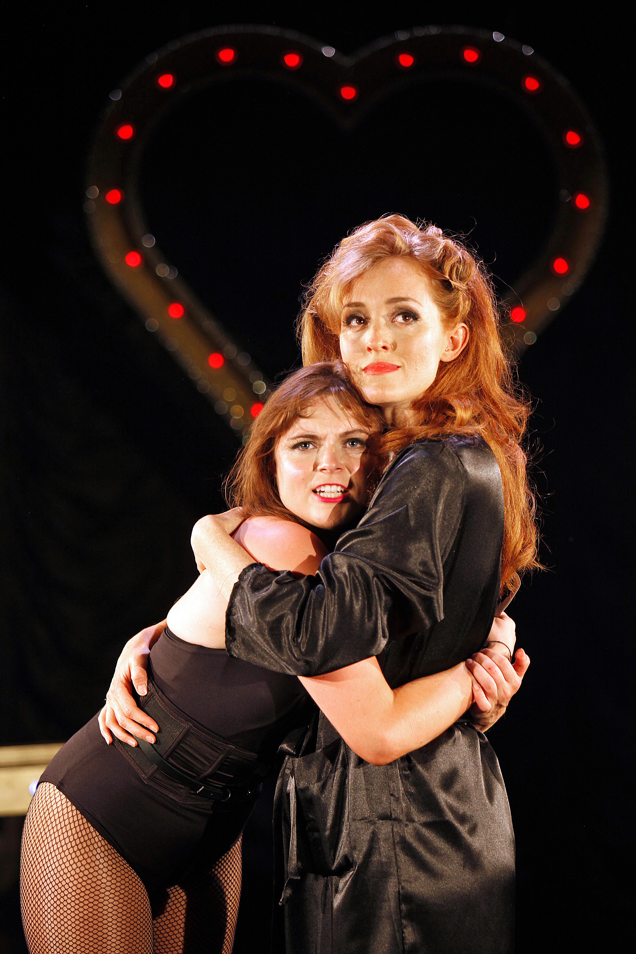 Sweet Charity at The Watermill. Gemma Sutton and Vivien Carter. Photo by Philip Tull 359.jpg